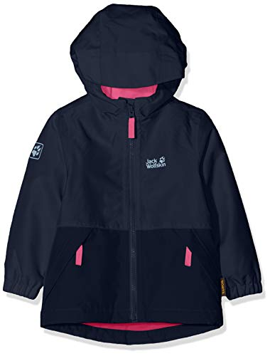 Jack Wolfskin Kinder Snowy Days Jacket Kids Wetterschutzjacke, Midnight Blue, 92