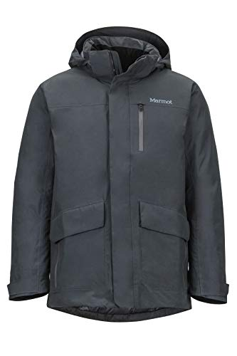 Marmot Herren Yorktown Featherless Isolierte Winterjacke, Stylischer Warmer Parka, Wasserdicht, Winddicht, Dark Steel, L