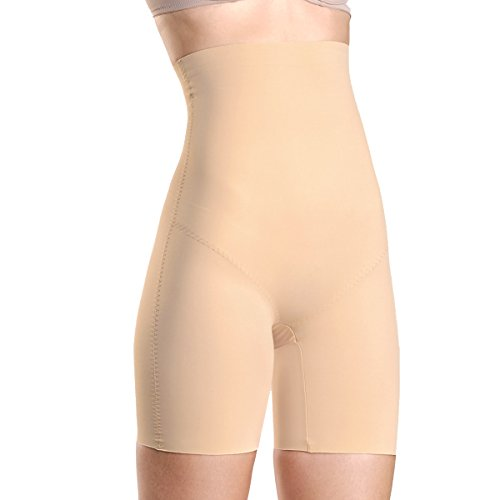 Kasheer Damen Shapewear Hohe Figurformende Bauch-Weg Miederhose. ShapePants High formt Ihre Silhouette bis zur Unterbrust. Haut Gr. 40/42