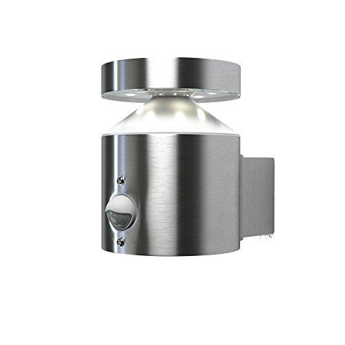 OSRAM - Applique extérieure LED ENDURA STYLE - Inox - Détecteur de présence - 6W Equivalent 33W - Garantie 5 ans
