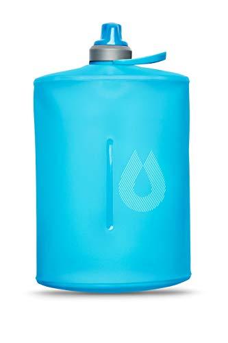 Hydrapak Stow Bottle 1L Botella Acampada y Senderismo, Adultos Unisex, Azul (Blue), Talla Única