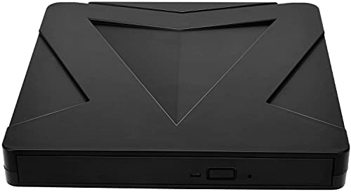 ETE ETMATE Externes Blu Ray DVD-Laufwerk 3D, USB 3.0 & Typ-C Blu-Ray BD DVD CD optischer Brenner kompatibel mit MacOS, Windows XP/7/8/10 für MacBook, Laptop, Desktop, PC