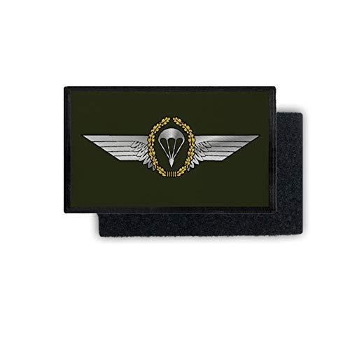 Copytec Patch Fallschirmspringer Abzeichen BW Fallschirmjäger Uniform 9,8x6cm #31238