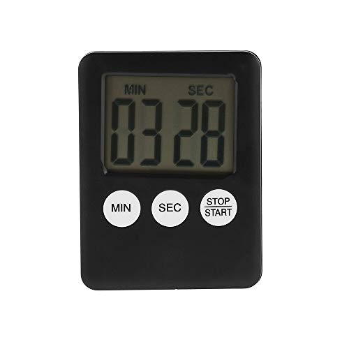 Best Design Original Magnetic Large LCD Digital Timer Multi Use with Screen Loud, Magnetic Stand Gauge - Magnetic Photo, Kitchen Timer, Multi Function Digital Timer Alarm, Magnet Chronograph
