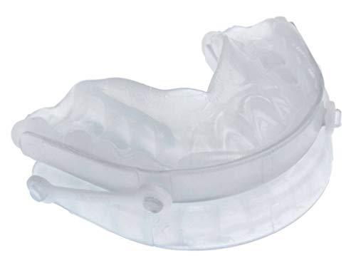 Somnoguard SP Zahnschiene SomnoGuard Soft Anti-Schnarchschiene Protrusionsschiene im Set mit Snorepast Ratgeber Rückenlageverhinderung bei Schnarchen