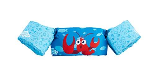 SEVYLOR - Braccioli galleggianti per Bambini di età Compresa tra 2 e 6 Anni, 15 – 30 kg, con Diversi Design per Bambini e Bambine, Unisex - Adulto, Puddle Jumper, Multicolore (Lobster)