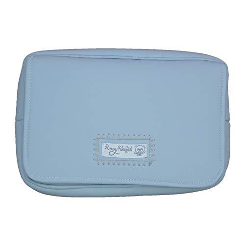 Porta toallitas húmedas Fuentes en color azul empolvado