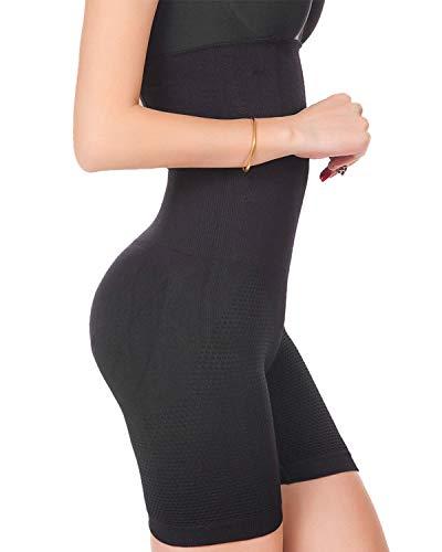 Mainstone Faja Reductora Braguita Moldeadora Adelgazante Faja Pantalón Cintura Alta Body Moldeador Abdomen Shapewear Lenceria Mujer