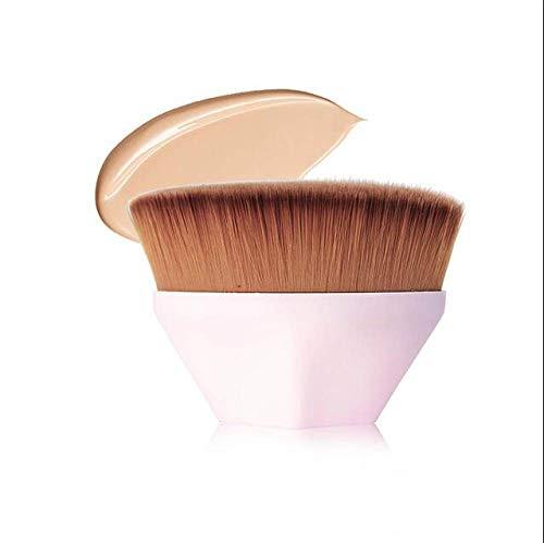 MLYJC Pinceaux Maquillage kit Foundation Brush BB Cream Pinceaux de maquillage Pinceau en poudre libre Kit plat Pinceaux de maquillage, blanc