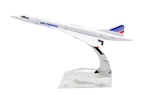 TANG DYNASTY(TM 1:400 16cm Concorde Air France Metal Airplane Model Plane Toy Plane...
