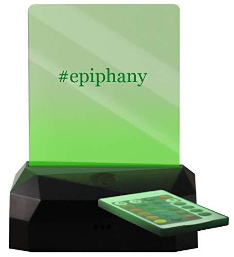 #Epiphany - Hashtag LED Rechargeable USB Edge Lit Sign