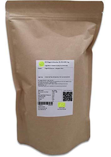 BIO Magermilchpulver DE-ÖKO-006 1 kg ideal für Joghurt, Drinks, Backen, Kochen