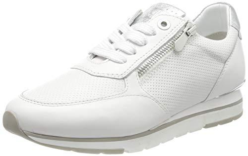MARCO TOZZI 2-2-23757-26 Leder Sneaker, Zapatillas Mujer, Color Blanco, 38 EU