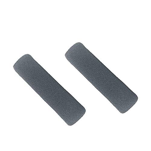 Switch リングコン 用 リンググリップ 手汗 交換用 Chechna 左右共通で使用可能なリングコン用グリップの2個セットです (グレー/グレー)