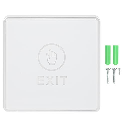 CUTULAMO Interruptor Inteligente, Sistema de Control de Acceso de Panel acrílico de Tres Cables con Pantalla LED para el hogar para la Puerta para la Seguridad