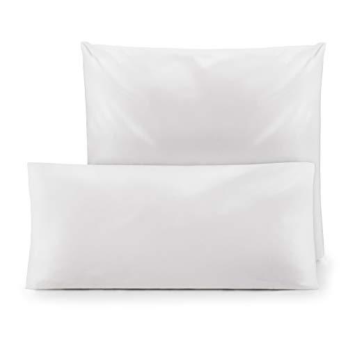 Blumtal Lot de 2 taies d'oreiller anti-acariens pour personnes allergiques - Housse de coussin anti-acariens - Lavable - 60 x 60 cm