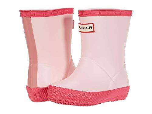 HUNTER Original Kids' First Classic Rain Boot (Toddler/Little Kid) Candy Floss/Hib Pink/Arcade 7 Toddler (UK 6) M