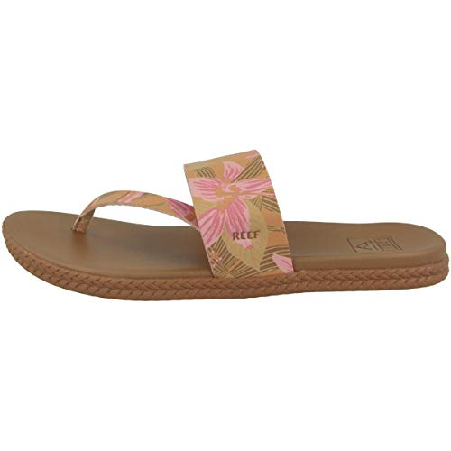 Reef Women's Sandals | Cushion Sol | Hibiscus | Size 5