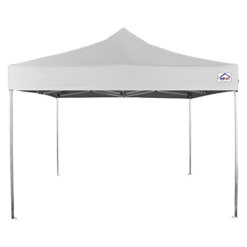 Impact Canopy 040030001-VC 10 x 10 Pop Instant Tent Frame Canopy Accessories Included, White