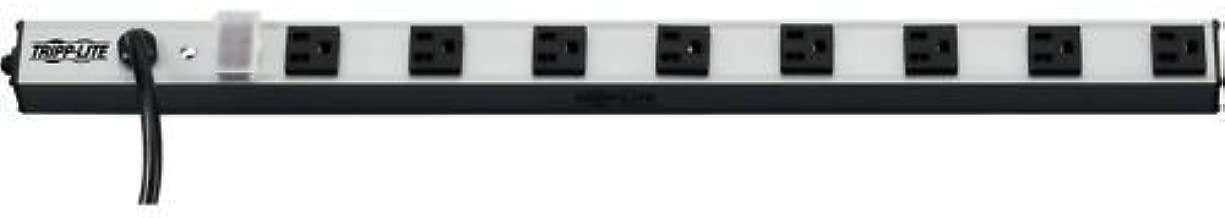 Tripp-Lite PS2408 8-Outlet Vertical Power Strip, 120V, 15A, 15' Cord, 5-15P, 24