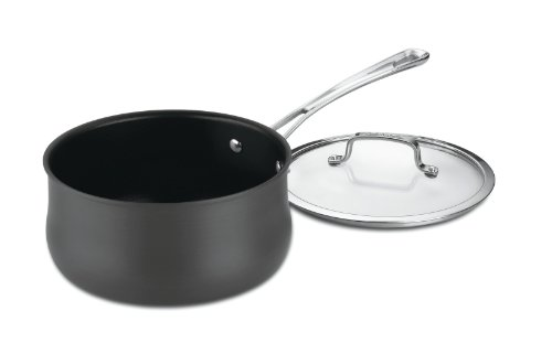 Cuisinart Contour Hard Anodized 3-Quart Saucepan with Cover