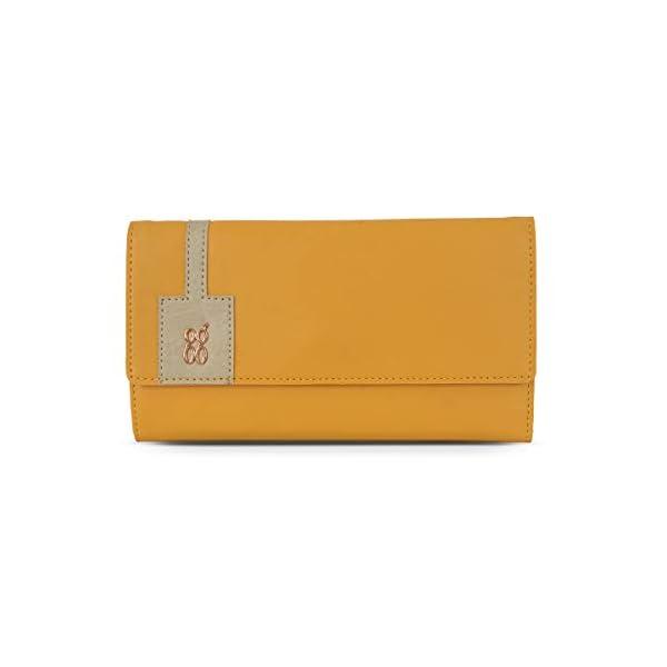 Baggit Faux Leather Women's 3 Fold Wallet