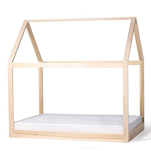 Product Image of the House Bed Frame Full Size PREMIUM WOOD