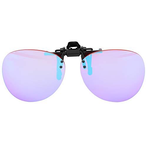 KASD Gafas para daltónicos, Gafas correctivas de diseño con Clip para Personas daltónicas para el Grupo de miopía
