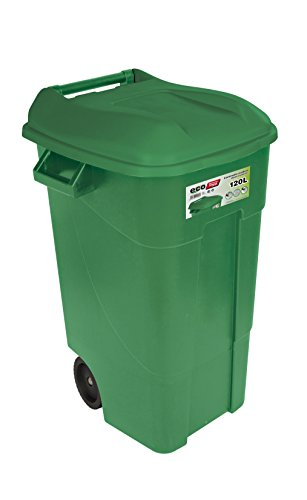 Tayg 424007 120 VE - Contenedor de Residuos Eco para Jardín, 120L