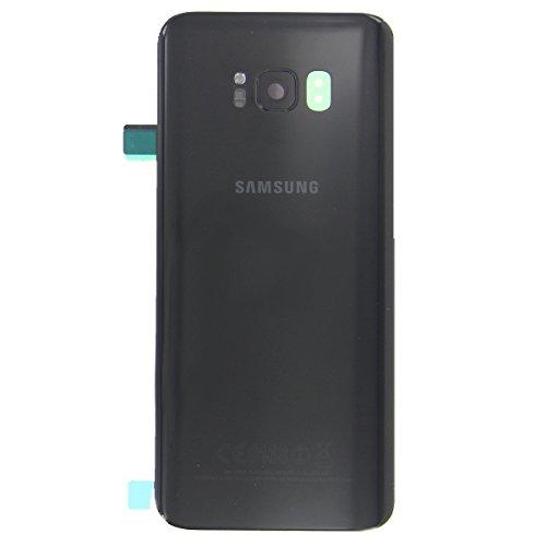 OEM SYSTEMS Scocca Copribatteria Back Cover Vetro Posteriore Originale Samsung Galaxy S8 G950 G950F SM Nero Black Midnight Blu Scuro Adesivo Biadesivo GH82-13962A