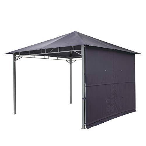 tepro Pavillon dunkelblau LEHUA 330x330x285 cm Garten Camping Terrasse 5506