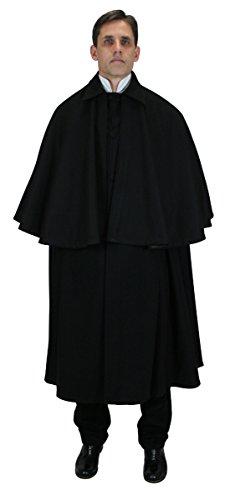 male steampunk cloak