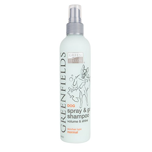 Greenfields Trockenshampoo für Hunde Spray & Go 250ml