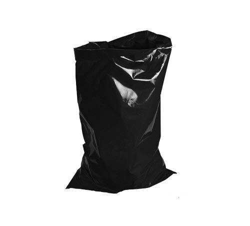 Uk Store 247 - Bolsas de basura resistentes (80 L, 15 kg), color negro, negro, 18 x 29 x 39'' Inches