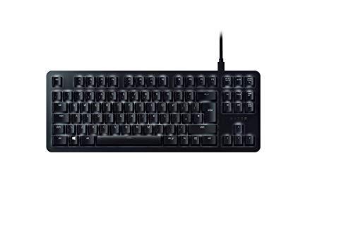 Razer BlackWidow Elite - Tactile and Silent Mechanical Gaming Keyboard - Razer Orange Switches, RGB Chroma Illuminated - Fully programmable with Macro Keys - UK Layout - Black