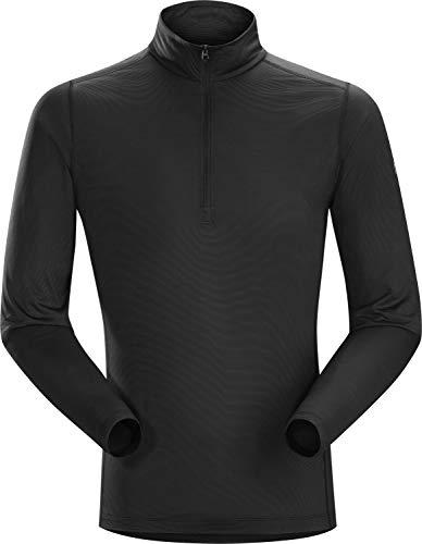 Arc'teryx Phase SL Zip Neck L/S, Couleur Noir, Taille L