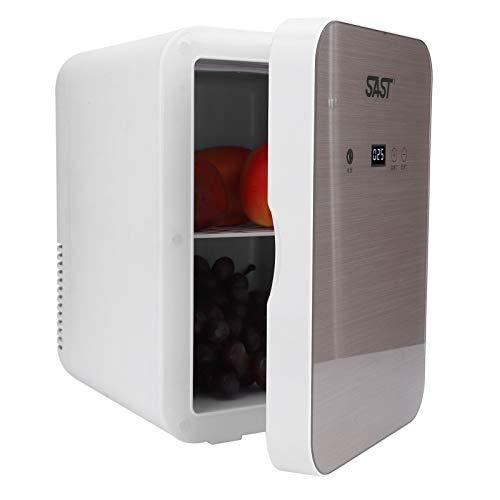 Q-HL Mini Nevera Frigorífico Refrigerador Mini Refrigerador 8l Refrigerador Digital Portátil 12v Refrigerador De Coches Doble Uso del Congelador De Doble Uso para Coches Casas Oficinas Y Dormitorios