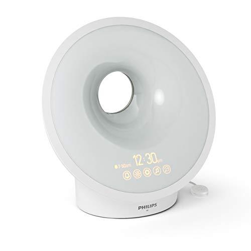 Philips Connected Sleep und Wake-up Light, Einschlafhilfe, Natürlich aufwachen, Umgebungssensor, App Connected, HF3671/01 - 7