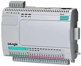MOXA ioLogik E2214 - Smart Ethernet Remote I/O with 6 DIs, 6 relays