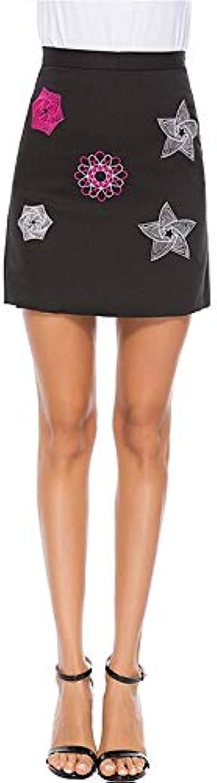Women's Above Knee a line Skirts  Galaxy