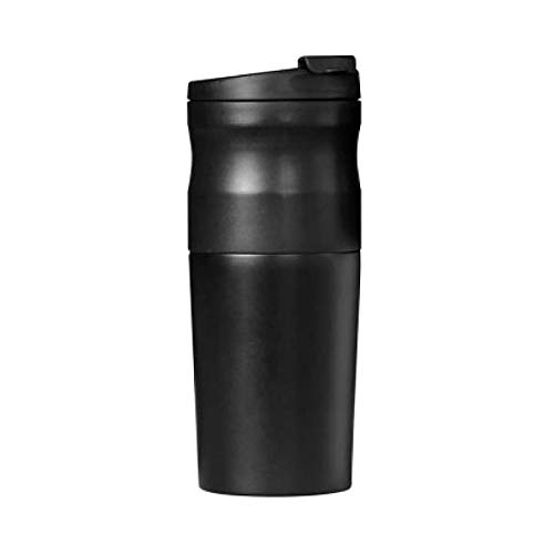 Portable Coffee Maker,Color Black,USB Charging,Travel Gadgets,Electric Grinder,Automatic Ceramic Burr Bean Grinder,Perfect For Camping
