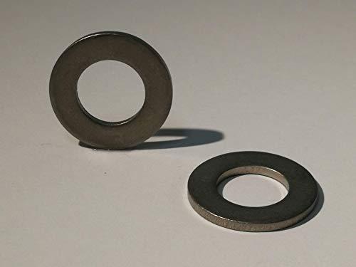 10xM6 Arandelas de titanio de 10 piezas - DIN 125 Forma A Ma