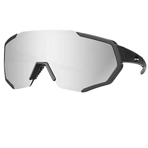 jzhi Gafas de Sol Deportivas polarizadas Gafas de Ciclismo Gafas de Ciclismo Gafas de Sol de Bicicleta de Carretera MTB Gafas de Sol de Bicicleta de Montar Uv400 Gafas de Motociclista