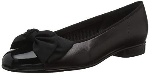 Gabor Gabor Shoes Damen Gabor Basic Geschlossene Ballerinas, Schwarz (Black 37), 41 EU (7.5 UK)