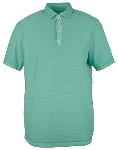 Tommy Bahama Men's Polo Shirts Cirrus Coast Polo Ss (X-Large, Gulf Shore)