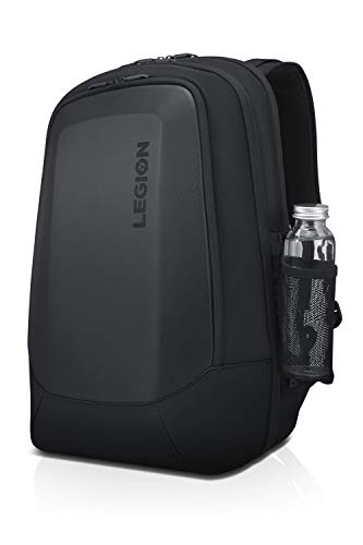 Lenovo Legion 17' Armored Backpack II, Gaming Laptop Bag, Double-Layered Protection, Dedicated Storage Pockets, GX40V10007, Black