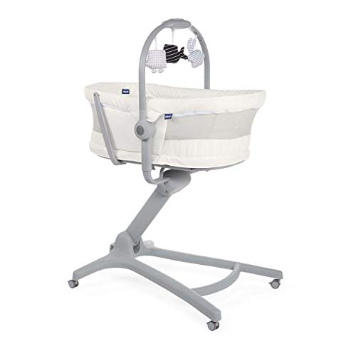 Chicco Baby Hug Air 4In1 White Snow - Sillas Mecedoras, Unisex