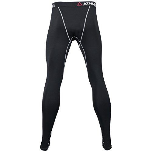 Athmile Men's Compression Pants Cool Dry Sports Tights Baselayer Capris Legging
