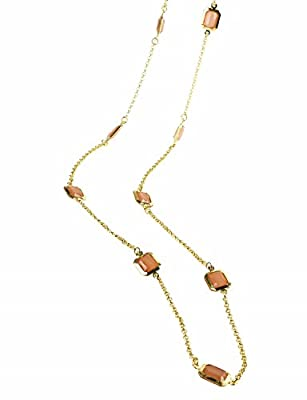 All Season Casual Beaded Long Station Necklace