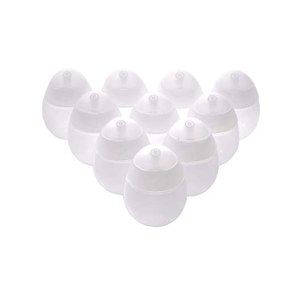 Corona Virus protection products Round Bottles with Flip Top Cap, 10 Pcs 60ml/2oz – Empty and Refillable Plastic